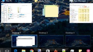 move applications of all desktops to active desktop in windows 10