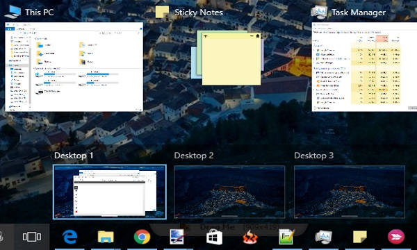 Move Applications Of All Desktops To Current Desktop In