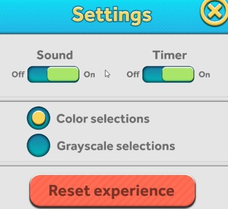 simple word search settings
