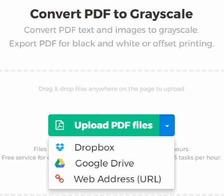 upload a pdf