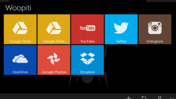 windows 10 file manager for google drive, dropbox, twitter, facebook
