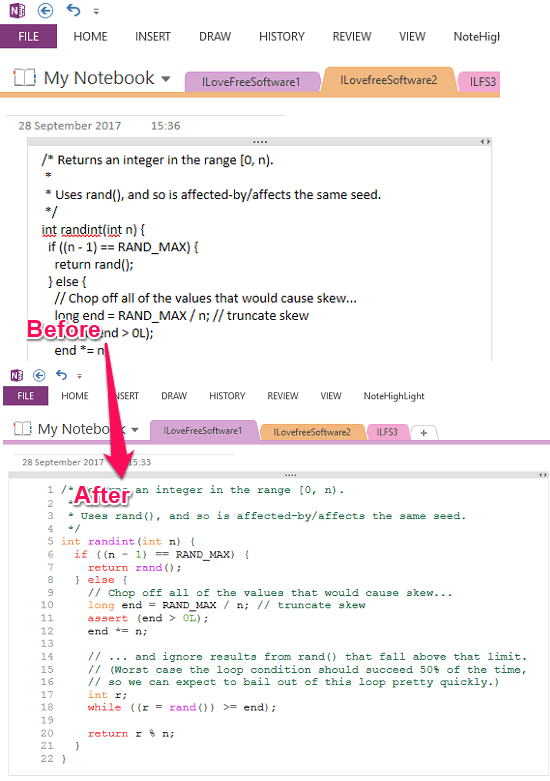 Add Syntax Highlighting to Code in OneNote