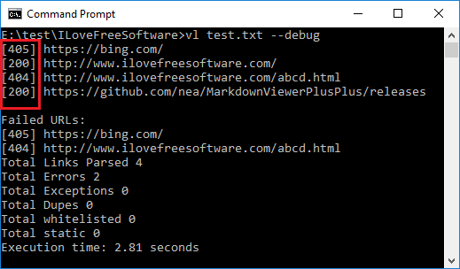 How to Bulk Check HTTP Status Codes for URLs from Command line