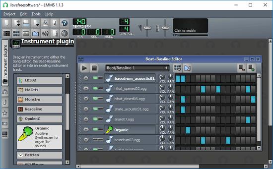 LLMS dubstep software