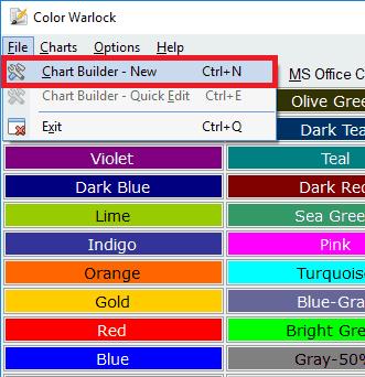 color warlock interface