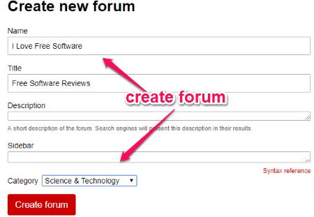 Free Online Open Source Reddit Clone