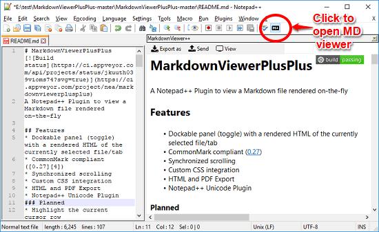 markdown viewer plus