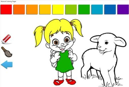 Free Windows 10 Musical Coloring Pages for Kids with Rhymes