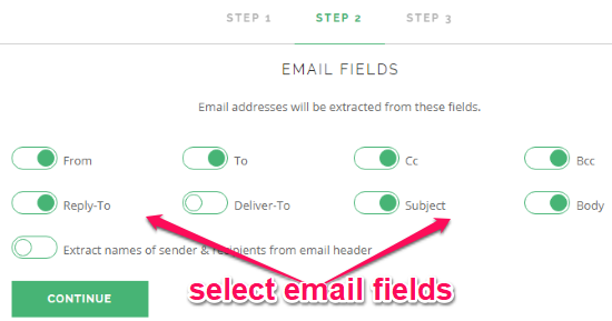 How to Extract Email Addresses from Gmail Emails of Specific