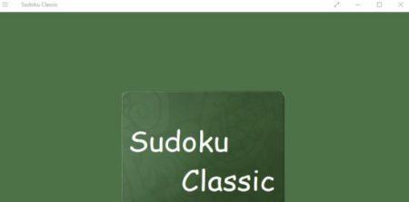 sudoku classic home