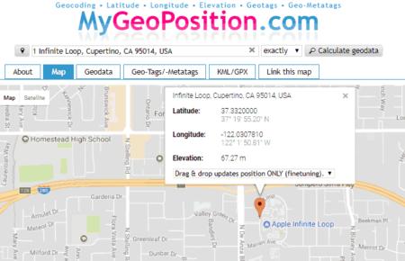address to lat long