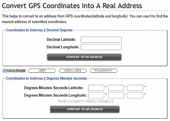 8 Free Websites To Reverse Geocode Coordinates To Address
