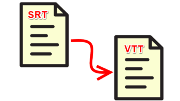 Free SRT to VTT Converter Software for Windows