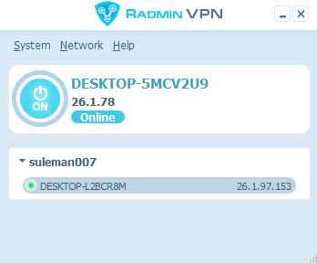 Free Software to Connect Remote PCs in a Virtual Network Radmin VPN