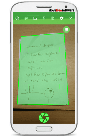 How to Scan Hand Written Notes and Documents on Android