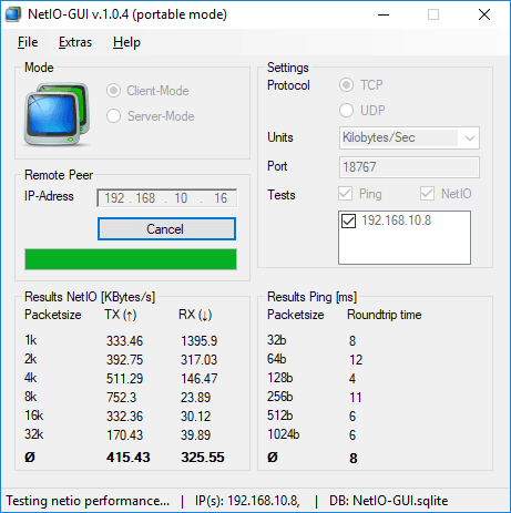 How to See Bandwidth Speed Between Two PCs in a Network