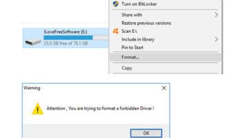 Lock Hard Disk from being Formatted Accidentally