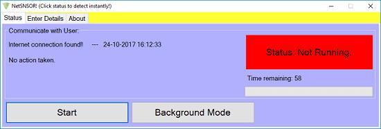 NetSNSOR interface