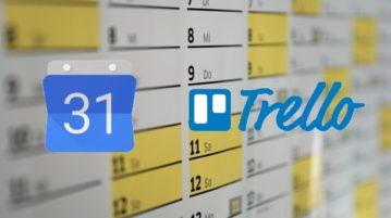 Online Calendar with Task Manager & Google Calendar, Trello Integration