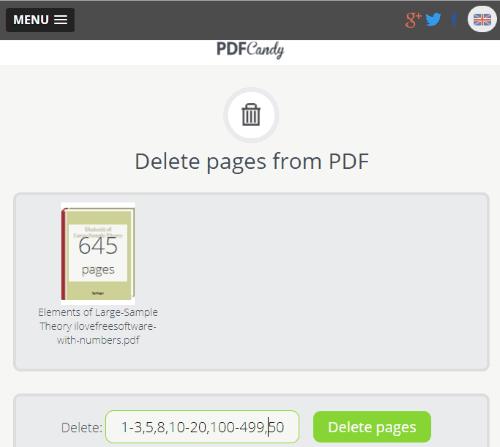 PDFCandy website