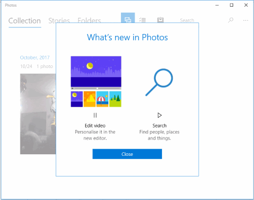 edit video update in photos app
