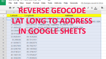 how to reverse geocode lat long to address in google sheets