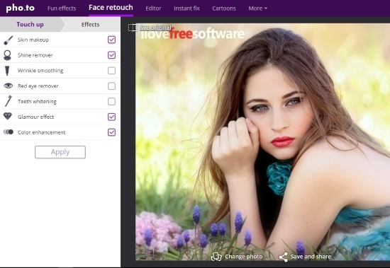 Beauty Photo Editor Websites For Online