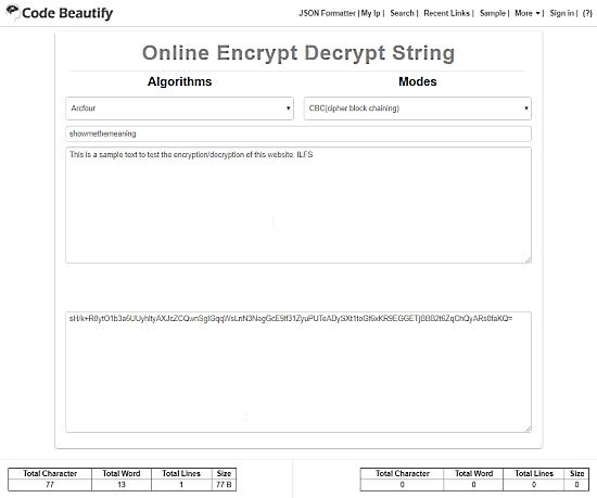 online encrypt decrypt