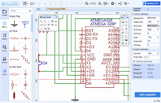 simulate circuit