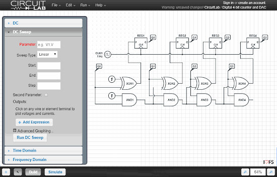 online circuit designing