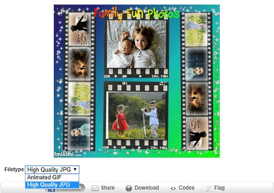 filmstrip photo