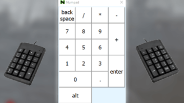 4 Free Virtual Numpad Software for Windows, Free On Screen Numpad