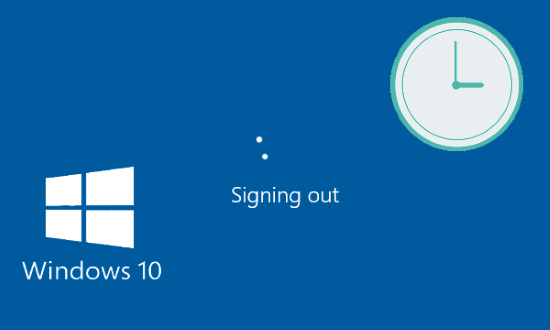 Automatically Log Off Idle User Session on Windows 10