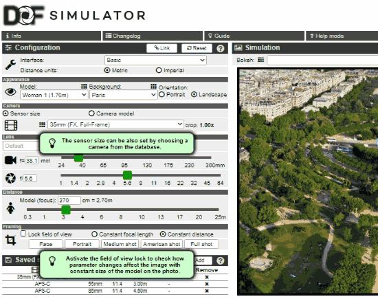 camera simulators