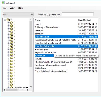 EOL freeware