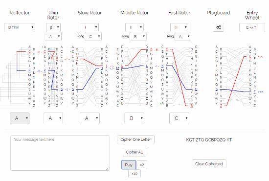 enigma m4 ciphertext