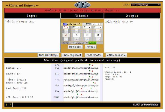 universal enigma simulator