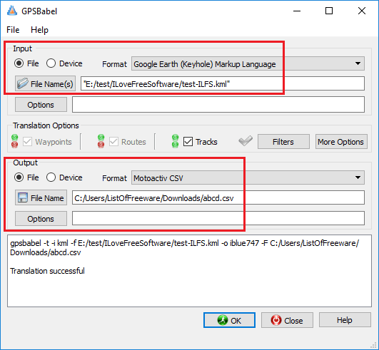 4 Free KML to CSV Converter Software for Windows