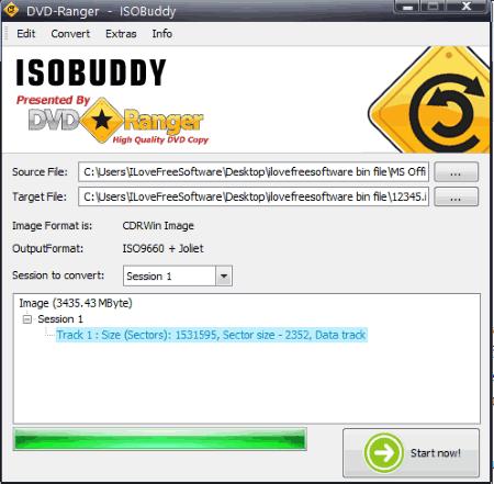 ISOBuddy- interface