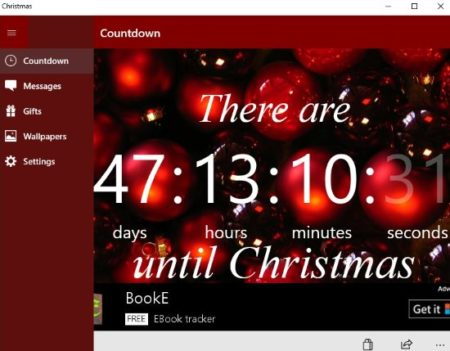 5 Free Windows 10 Christmas Countdown Clock Apps