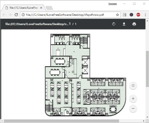 convert visio to pdf