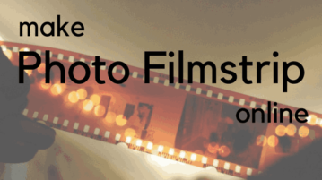top 5 free websites to make photo filmstrip online