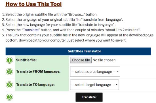5 Best Online Subtitle Translator Websites