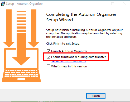 select highlighted option