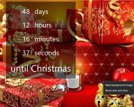 Christmas Countdown Widget.5 Free Windows 10 Christmas Countdown Clock Apps