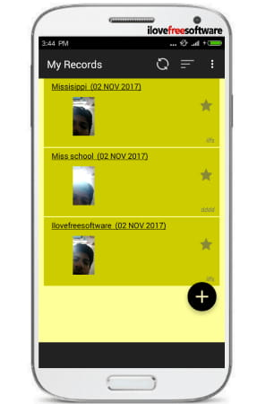 videodiary app simple