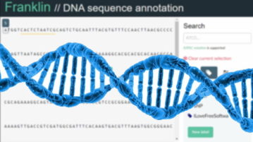 DNA Sequence Annotation Tool, Annotate Data from a Sequence File