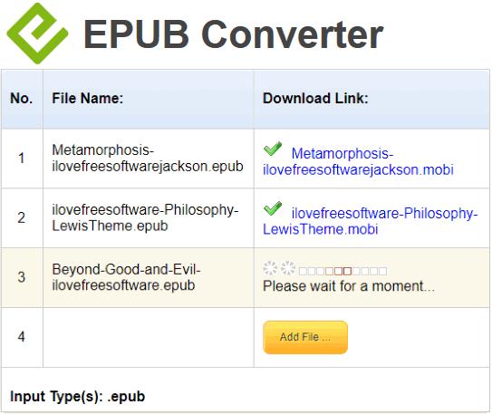 EPUBConverter website
