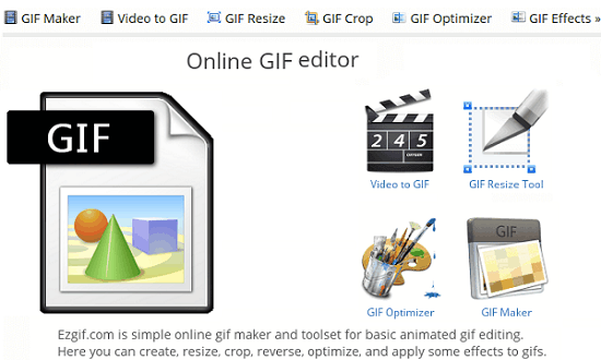 Free Online GIF Editor Websites to Cut, Crop, Resize, Optimize a GIF