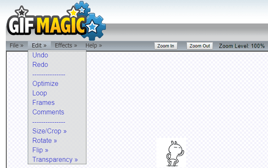GIF magic online gif editor